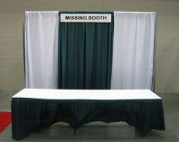 Missing Booth